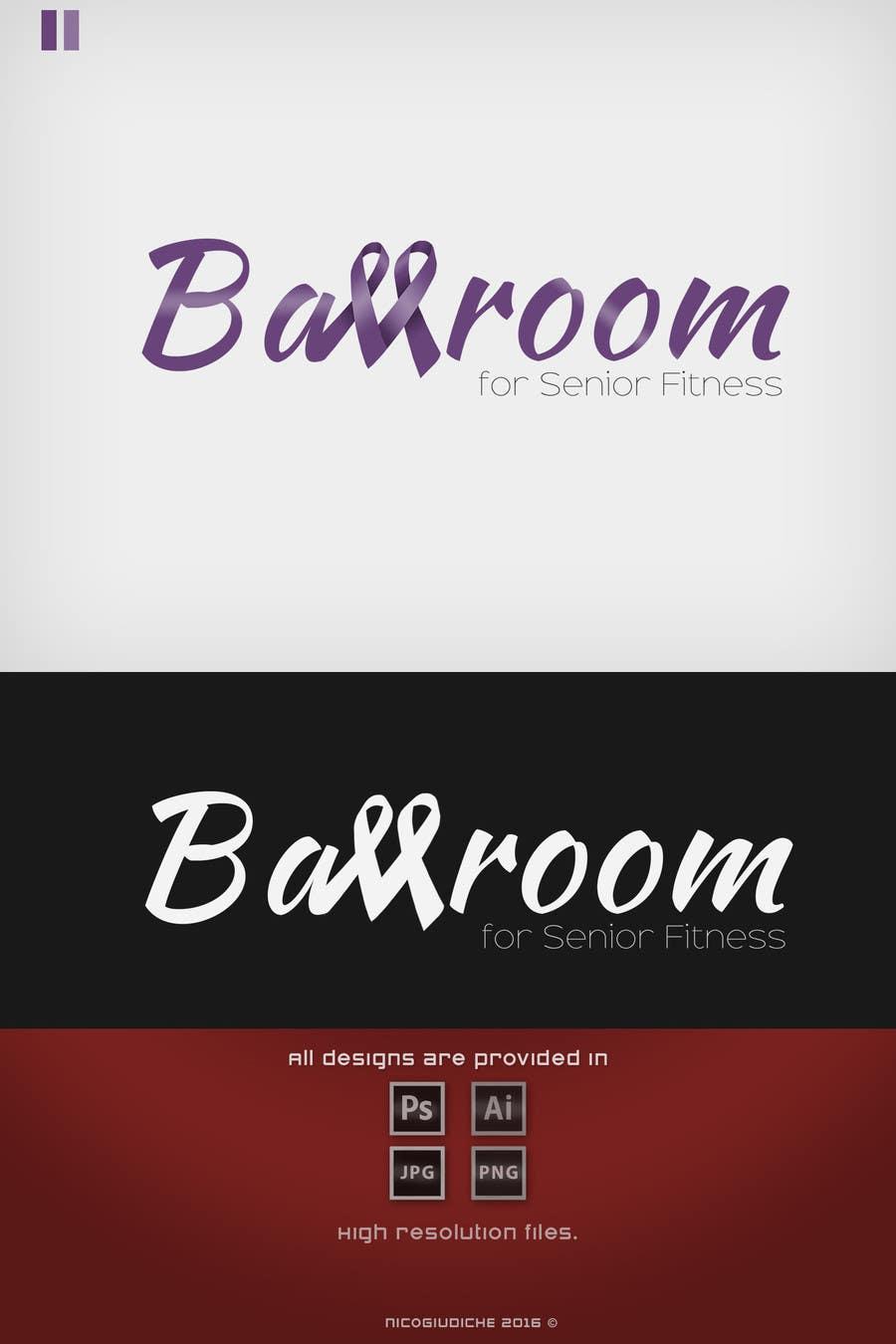 Participación en el concurso Nro.                                        3                                      para                                         Ballroom Dance for Senior Fitness Logo
