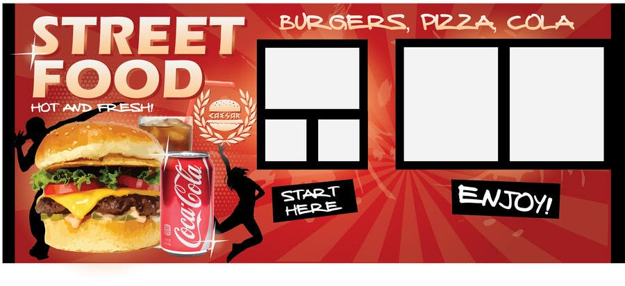 Contest Entry #                                        20                                      for                                         I need some Graphic Design idea for fast food kiosk