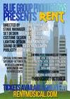 Design 2 Posters for musical RENT için Graphic Design2 No.lu Yarışma Girdisi