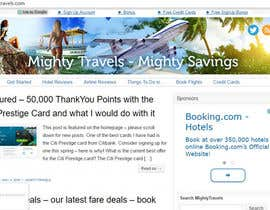 #58 para Design  Travel Blog Masthead de ShineBrightLike