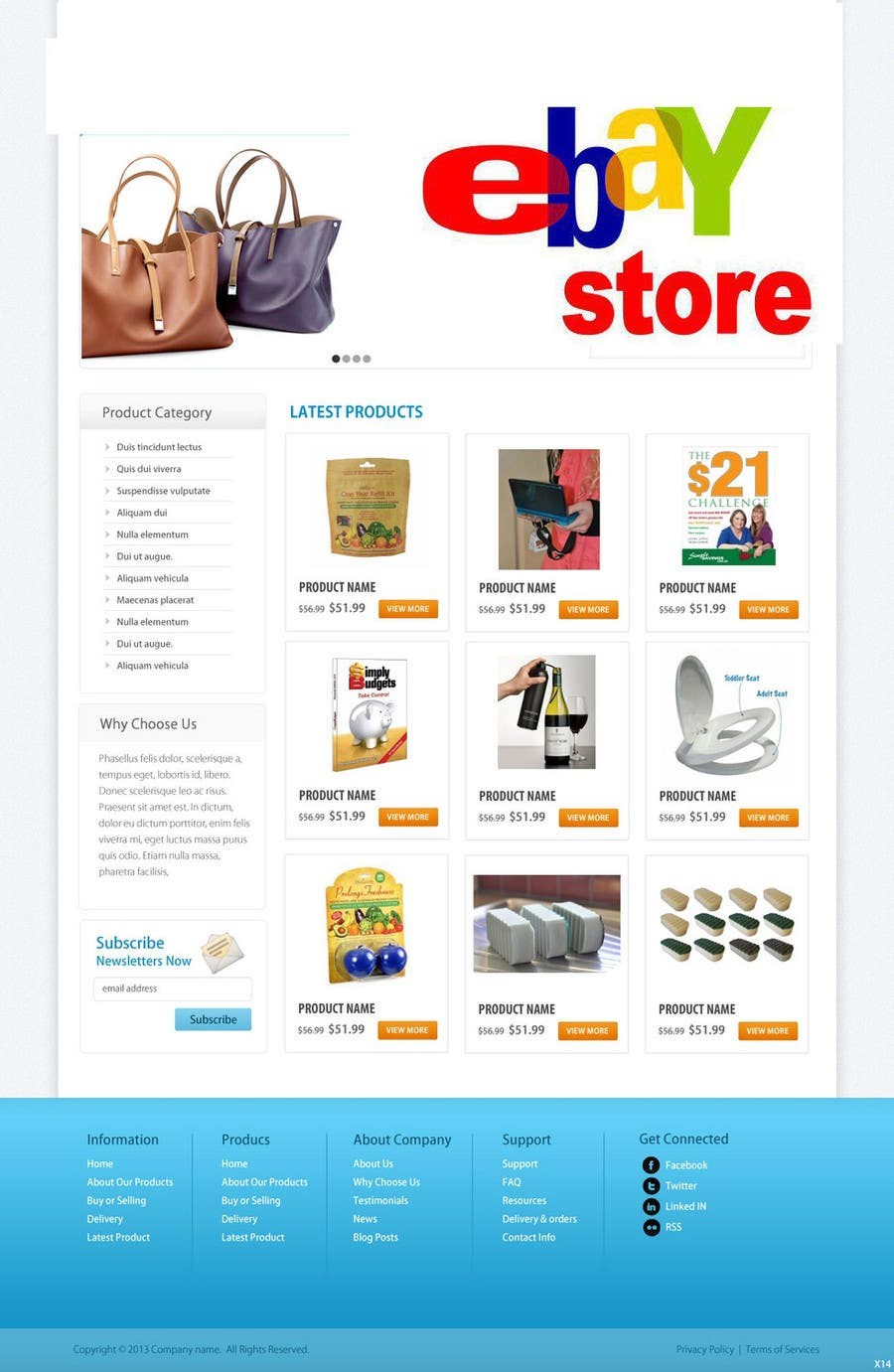 #29 for Build a ebay store and matching listing template, logo and facebook landing page by grapaa