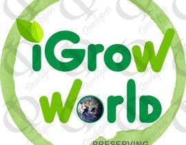 """phidevelopers tarafından Make Logo Variation for """"iGrow World"""" için no 96"""