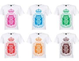 #24 untuk Design a T-Shirt for Coloring Books fans (Teespring, Amazon Merch) oleh venky9291