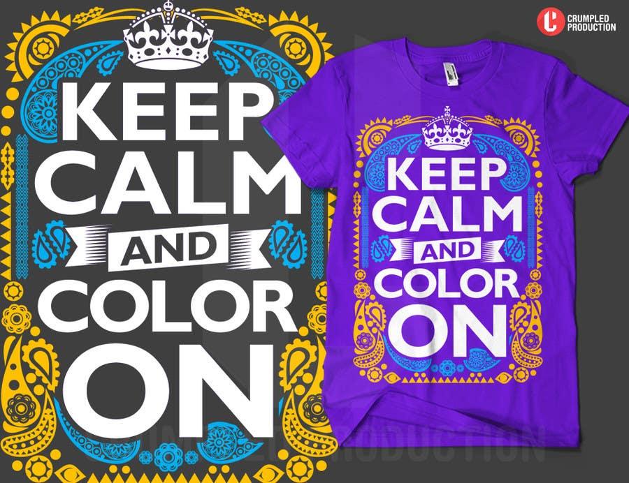 Penyertaan Peraduan #                                        10                                      untuk                                         Design a T-Shirt for Coloring Books fans (Teespring, Amazon Merch)