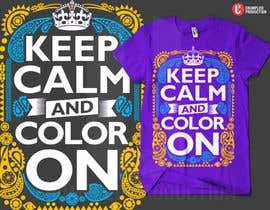 #10 for Design a T-Shirt for Coloring Books fans (Teespring, Amazon Merch) by dhido