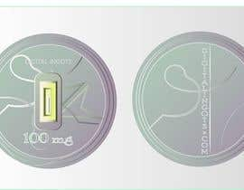#4 สำหรับ Acrylic coin design for encased gold ingot- Please read description -- 2 โดย androbaylomasha