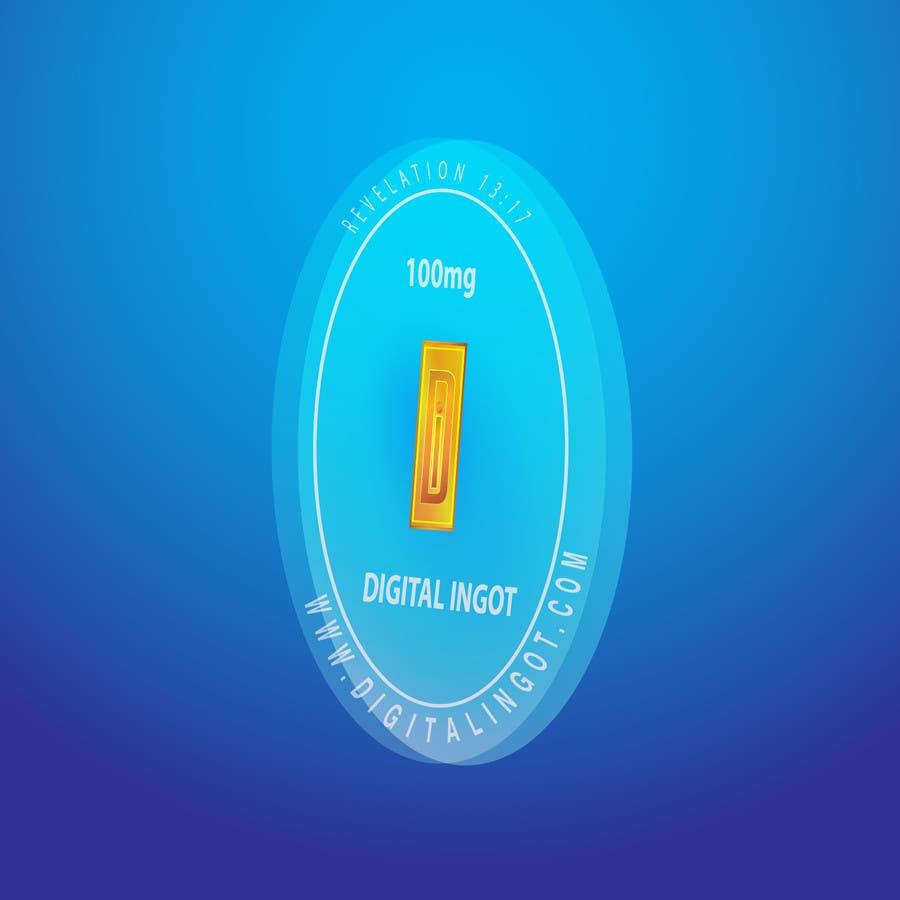 Contest Entry #                                        10                                      for                                         Acrylic coin design for encased gold ingot- Please read description -- 2