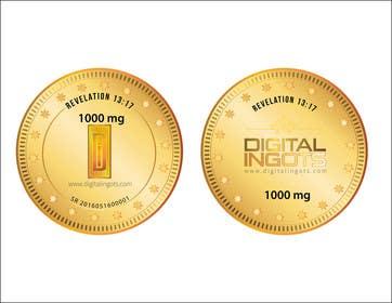 alizahoor001 tarafından Acrylic coin design for encased gold ingot- Please read description -- 2 için no 9