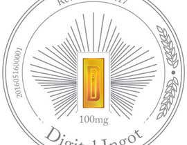 #5 para Acrylic coin design for encased gold ingot- Please read description -- 2 por eosergio