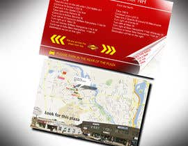 "#6 untuk Create Print and Packaging Designs for Driving Directions 2 Sides 5.375"" x 8.375"" finished size oleh bhoyax"