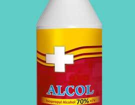acubedesigner tarafından Design an Alcohol Bottle Wrapping (Medical Alcohol) için no 9