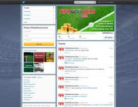 #2 untuk Design a Twitter background&cover for my website oleh zlostur