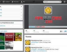 #7 untuk Design a Twitter background&cover for my website oleh daevasantino