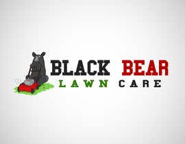 nº 19 pour Design a Logo for Blackbear Lawncare par kirtanwa