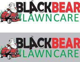 #9 para Design a Logo for Blackbear Lawncare por pauliciaolivier