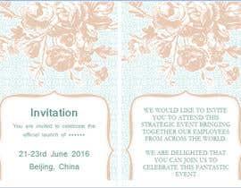#1 para Chinese Invitation Samples por vbizsolutionss