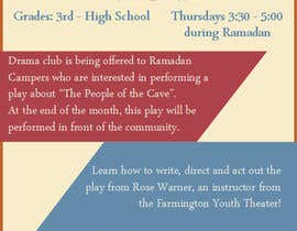 #1 for Design a Flyer for a Drama Club by leahsilecchia