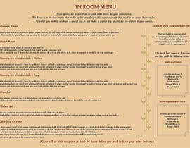 #6 for Design In Room Menu for Hotel by kxremail