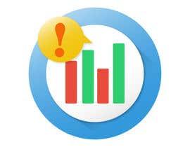 Nro 9 kilpailuun Stock Market Alert App Icon käyttäjältä angelazuaje