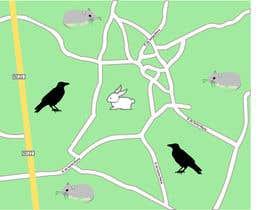 #3 para re-desenhar pequeno mapa em estilo Handraw animado por vladamm