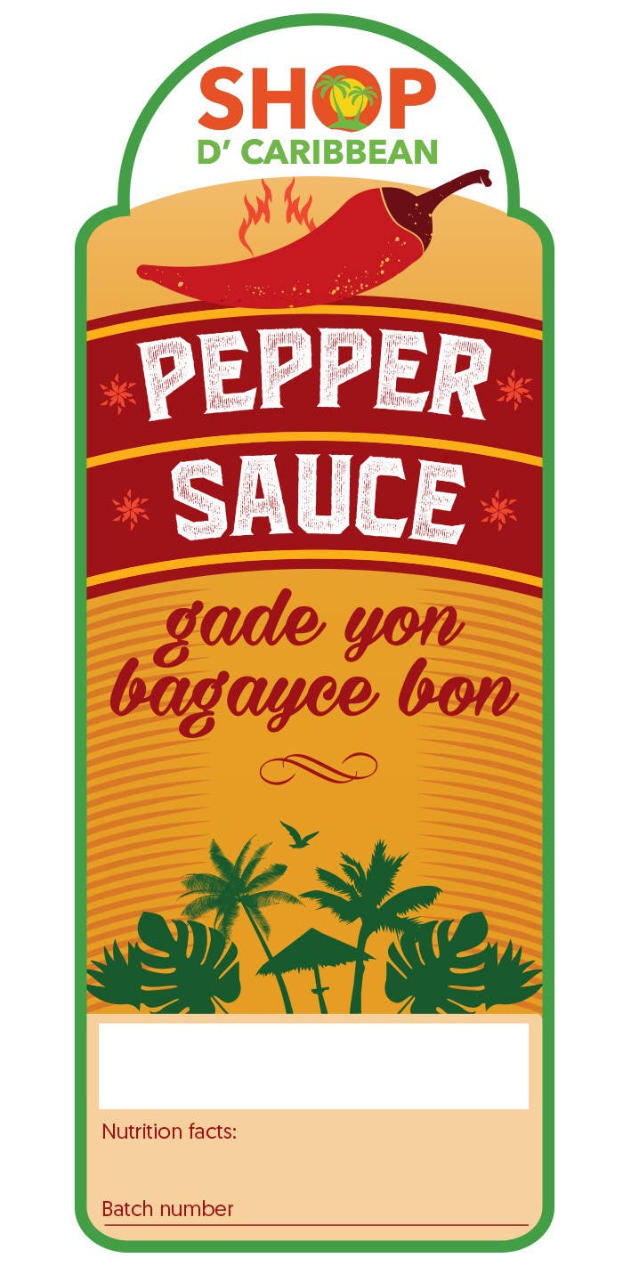 Contest Entry #                                        3                                      for                                         Design a Pepper Sauce Label