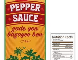#7 for Design a Pepper Sauce Label by SergeyG0
