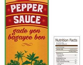 #7 para Design a Pepper Sauce Label de SergeyG0