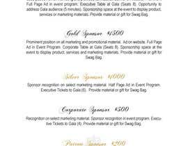 #12 for Gala Sponsorship by danielapirri