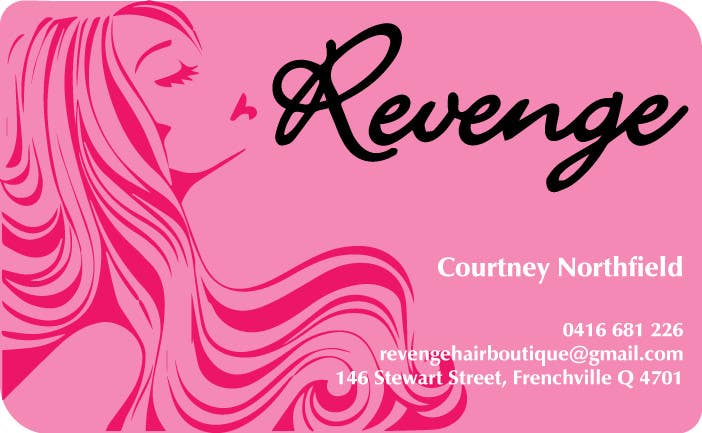 #11 for Design some Business Cards for Revenge by tanveer230