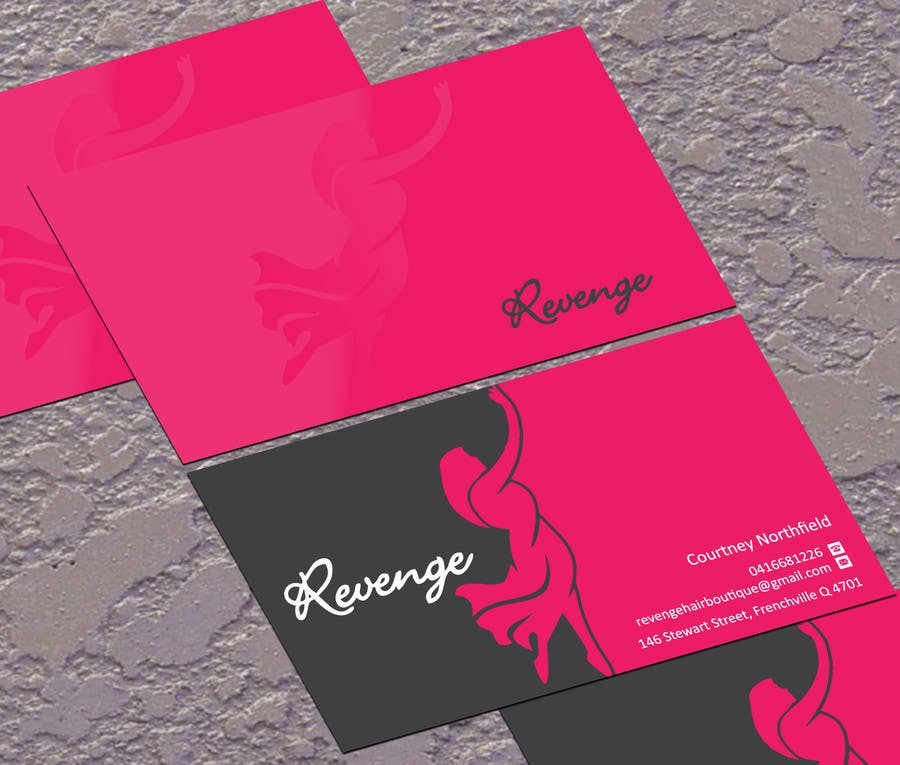 #44 for Design some Business Cards for Revenge by jobee