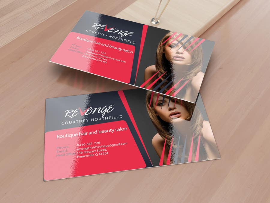 #46 for Design some Business Cards for Revenge by creativezd