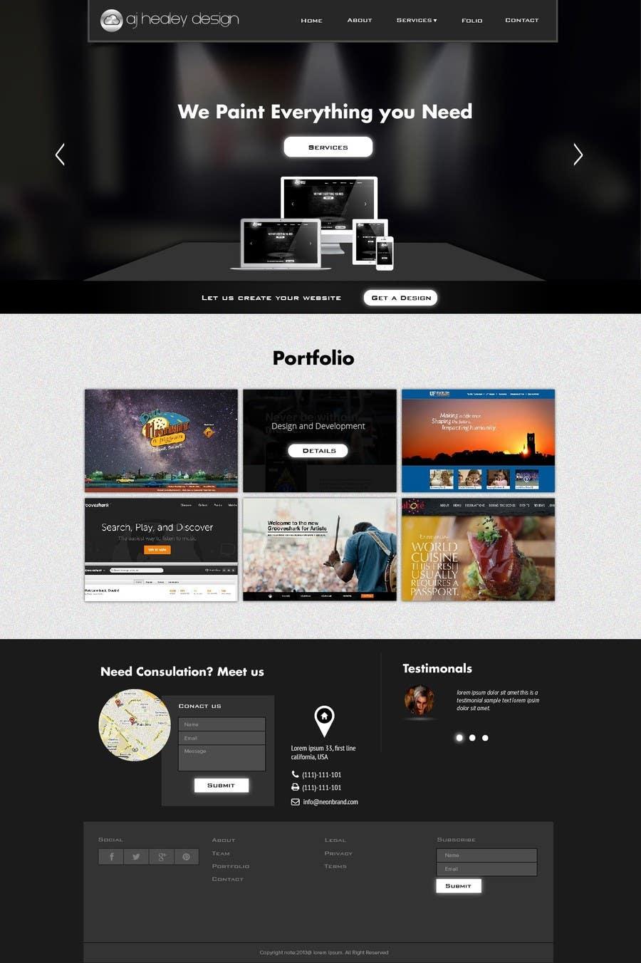 #38 for Design Logo, Branding and Website by jeransl