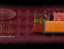 #31 for Design a Banner for Leather Wallets and Bags Website by Ipin89