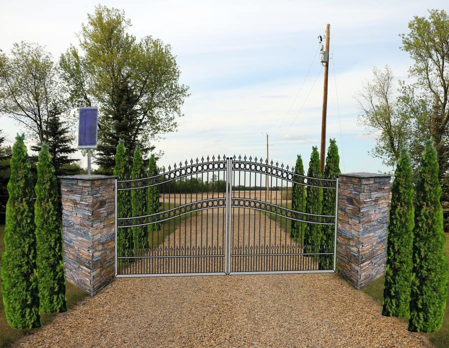 Contest Entry #                                        19                                      for                                         Driveway Gate Design Photoshop