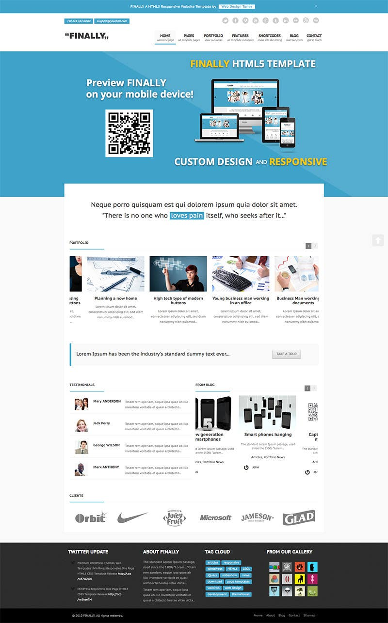 #1 for Responsive HTML email templates by zainrana