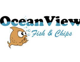 queeny09 tarafından Logo Design for OceanView Fish & Chips için no 32