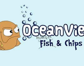 queeny09 tarafından Logo Design for OceanView Fish & Chips için no 61