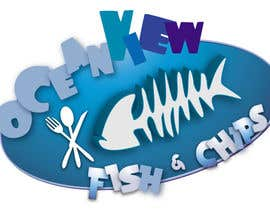 #205 for Logo Design for OceanView Fish & Chips by shakz07