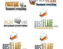 nº 79 pour Design a Logo for Postflare.com par EduardoStefano12