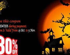 #17 untuk Design a Banner for Haloween Promotion oleh webcloud9