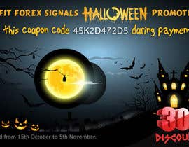 #21 for Design a Banner for Haloween Promotion by webcloud9