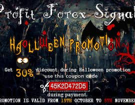 #33 untuk Design a Banner for Haloween Promotion oleh webcloud9