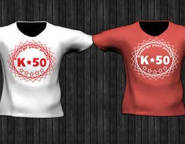 #48 for Design T-SHIRT for K50 (Разработка дизайна футболки for K50) by denisaelena