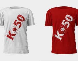 #39 for Design T-SHIRT for K50 (Разработка дизайна футболки for K50) by Studio7L