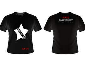 #43 for Design T-SHIRT for K50 (Разработка дизайна футболки for K50) by carlongpark