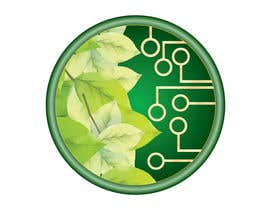 #12 for Design a Nature/Technology Logo Symbolizing a balance between the two by snezegorgievska
