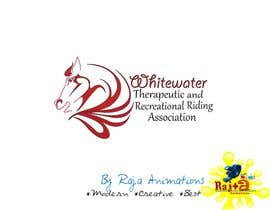 Nro 74 kilpailuun Logo Design for Whitewater Therapeutic and Recreational Riding Association käyttäjältä RajaAnimations