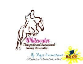 RajaAnimations tarafından Logo Design for Whitewater Therapeutic and Recreational Riding Association için no 79