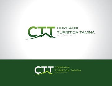 #120 for Design a logo for CTT - Compania Turistica Tamina af paxslg