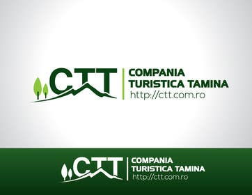 #130 for Design a logo for CTT - Compania Turistica Tamina af paxslg